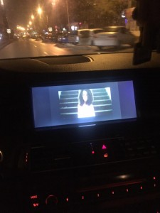 activare video in mers bmw seria f